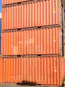 20ft. Seecontainer Hamburg