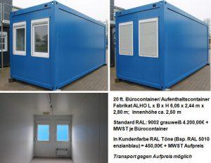 Bürocontainer Bremen