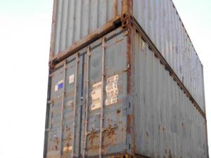Seecontainer-Lagercontainer