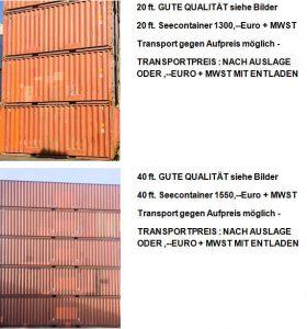 Seecontainer Hamburg
