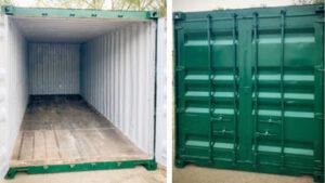 20 Fuß Container neu lackiert