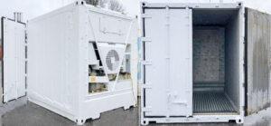 10 Fuß Kühlcontainer, neu lackiert