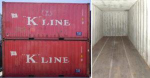 Sehr gut erhaltener 20 Fuß Container