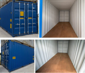 20 Fuß HC Container - Double Door