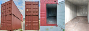 20 Fuß Container lackiert