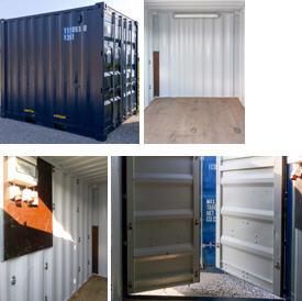 10 Fuß Container mit Elektroinstallation