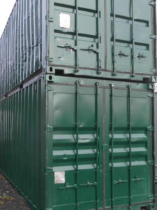 20 Fuß Seecontainer neu lackiert
