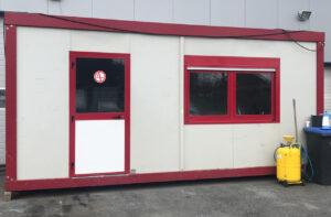 20 Fuß Bürocontainer