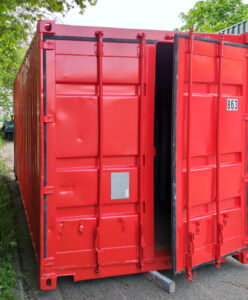 Seecontainer RAL 3020