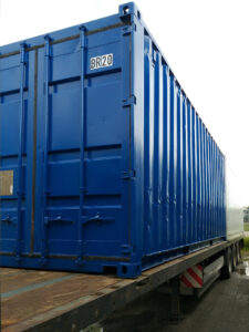 Seecontainer RAL5010